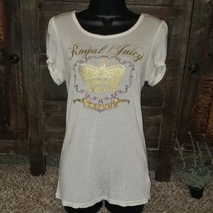 """""""5/$25"""" Sz L Juicy Couture Graphic tee"""